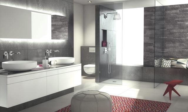 Salles de bain les tendances 2016 foire de paris for Salle de bain wedi