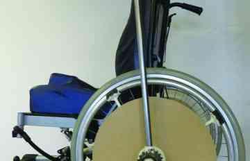 mbarki Soufiene fauteuil roulant concours Lépine Foire de Paris