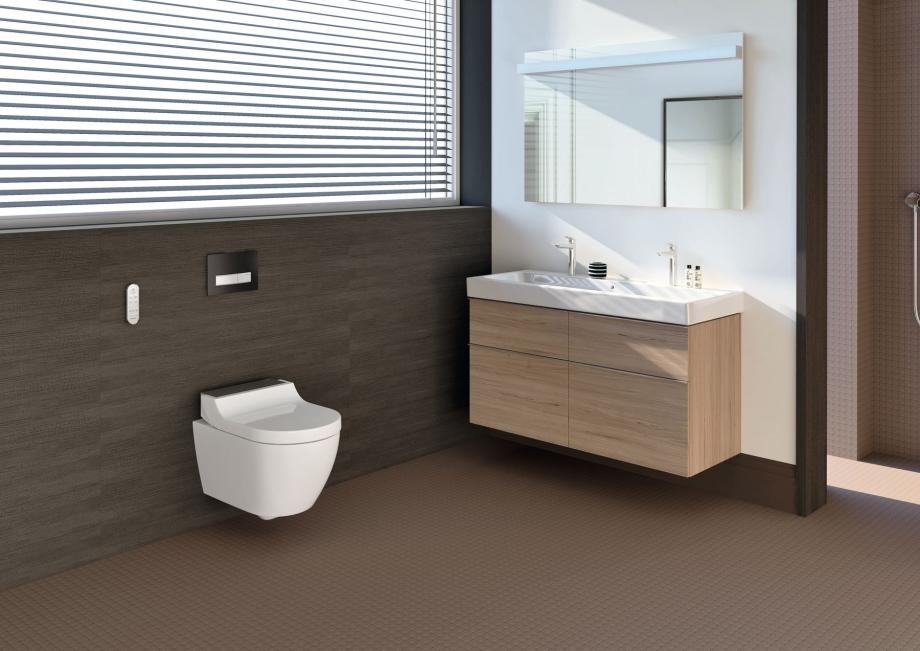 Grand prix de l'innovation - Grand Prix du Public - Foire de Paris - Geberit AquaClean Tuma WC lavant