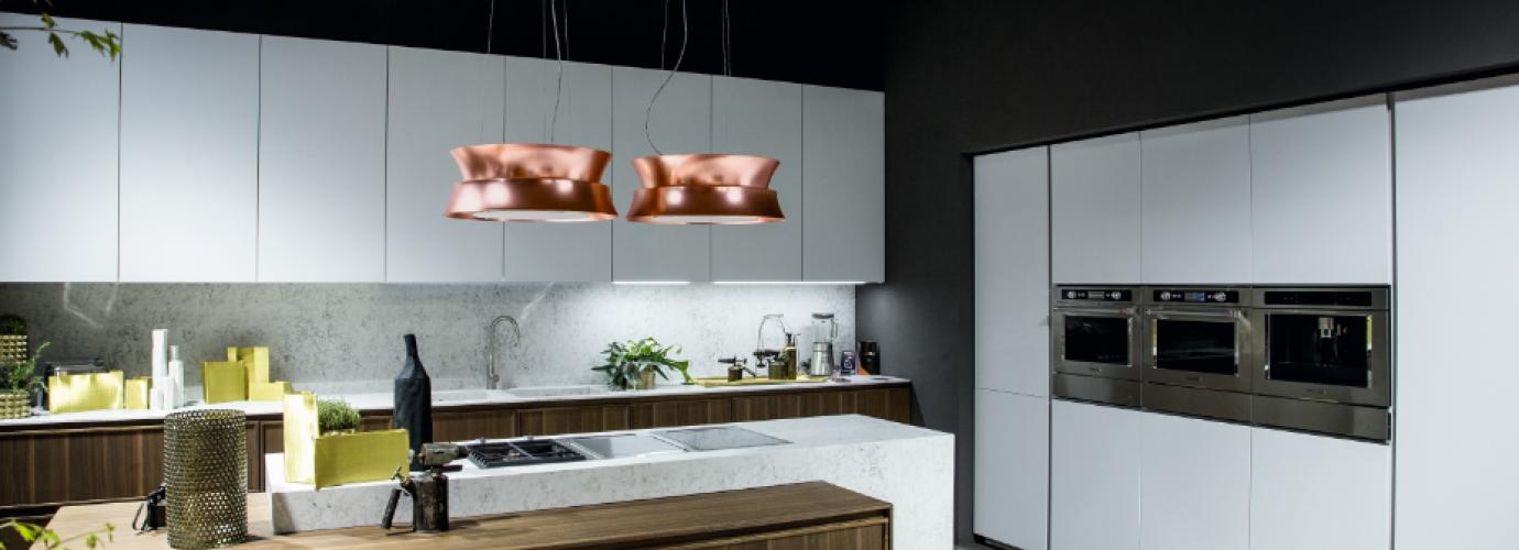 performance et design notre s lection de hottes foire de paris. Black Bedroom Furniture Sets. Home Design Ideas