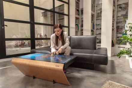 Grand prix de l'innovation - Grand Prix du Public - Foire de Paris - Table tactile Kineti