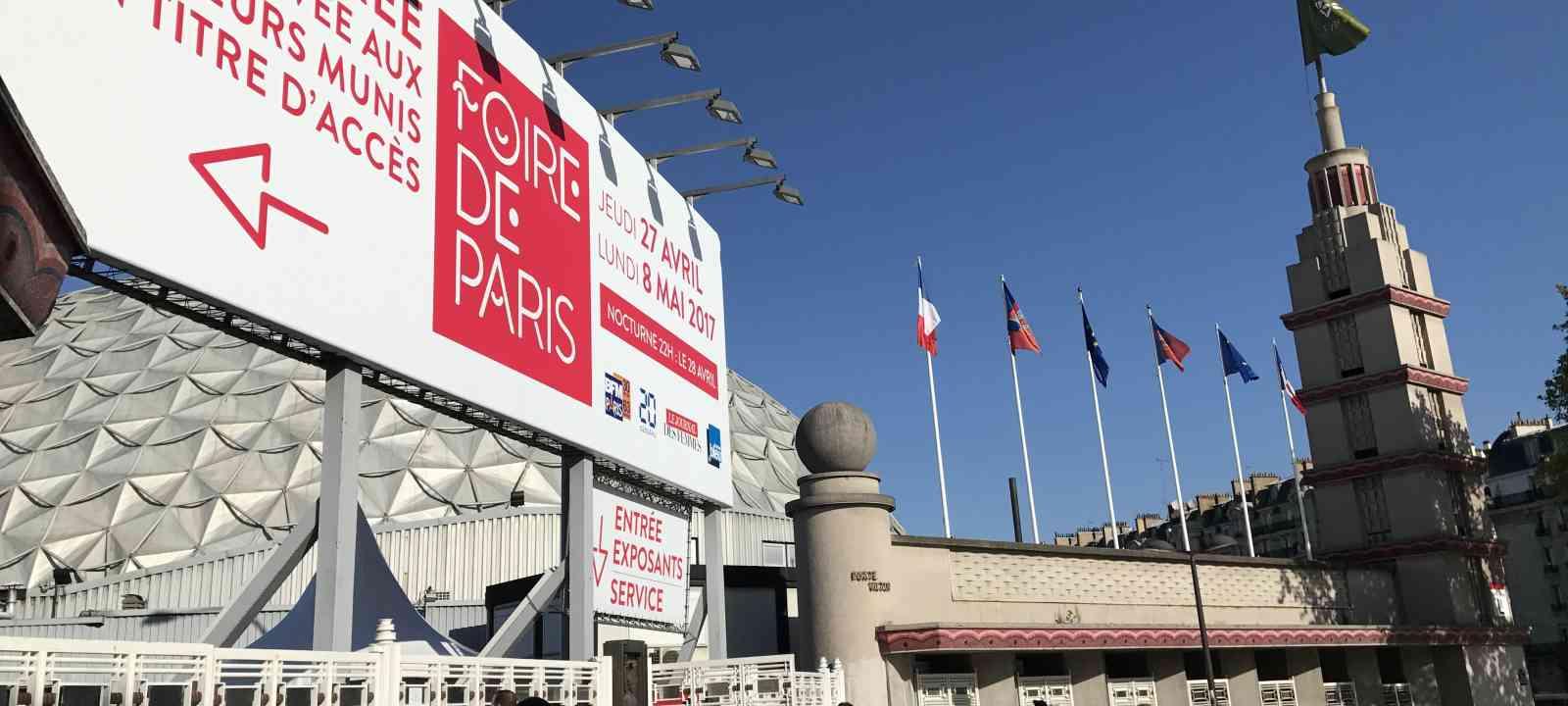 Foire de Paris 2017 - entrée