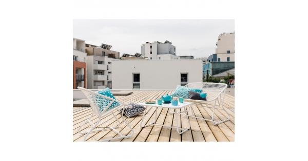avant apr s le balcon nouvel espace ext rieur foire de paris. Black Bedroom Furniture Sets. Home Design Ideas