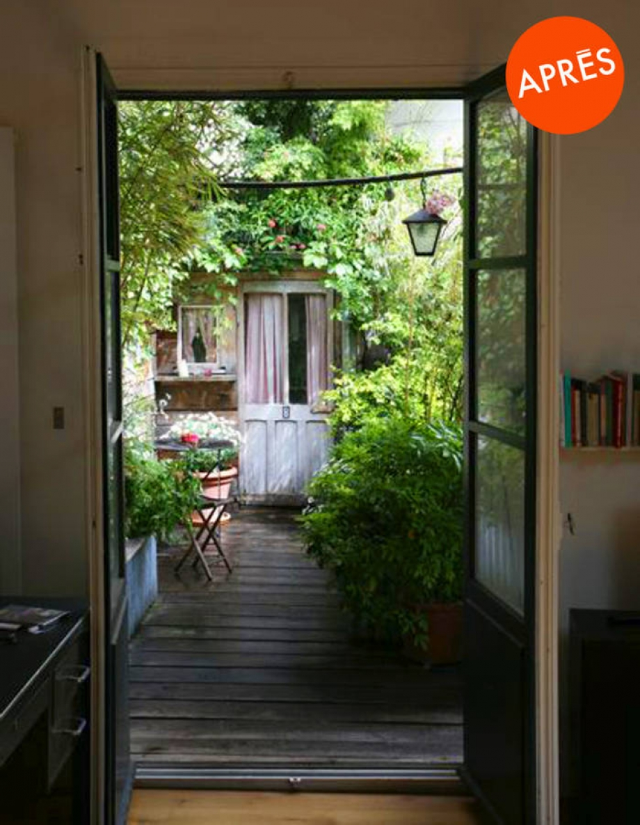 Foire de Paris balcon fleuri apres