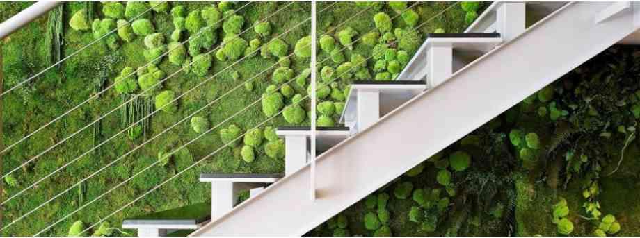 Foire de Paris deco vegetale mur