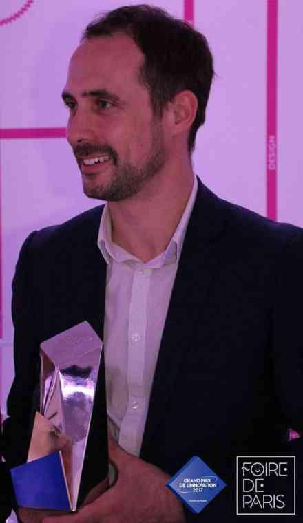 Foire de Paris - Grand prix de l'innovation - Gagnant or