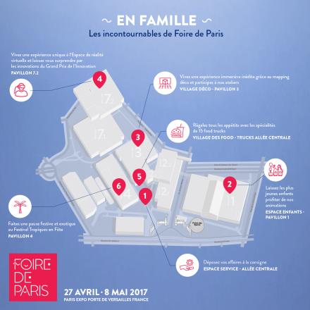parcours familiale sur Foire de Paris