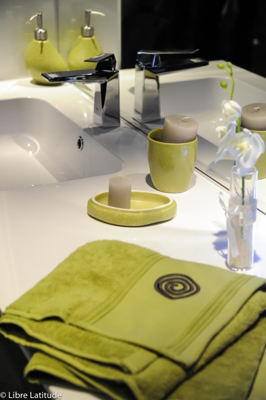 accessoires vert