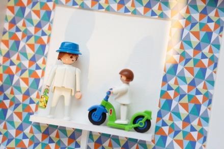 cadre enfant playmobile