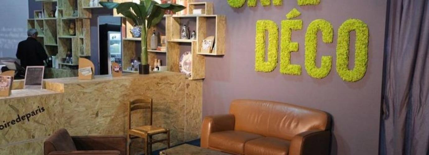 le village d co foire de paris 2018 a c 39 est paris foire de paris. Black Bedroom Furniture Sets. Home Design Ideas
