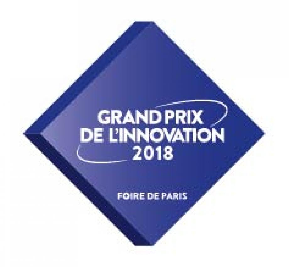 Logo du Grand de l'innovation 2018 de Foire de Paris