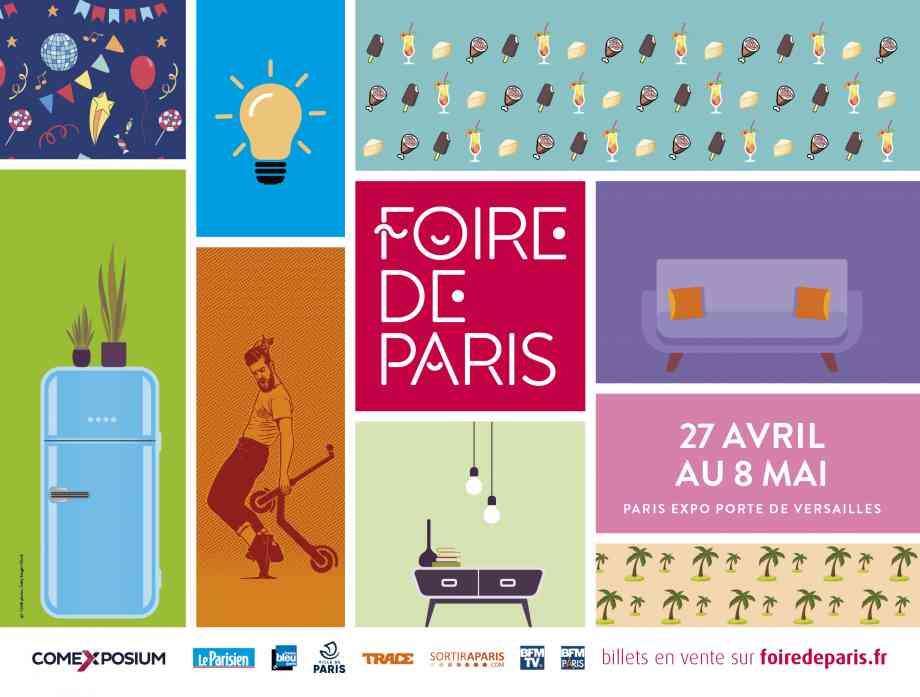Affiche Foire de Paris 2019