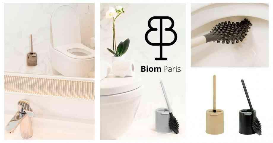 Première brosse WC éco-conçue au monde par Biom