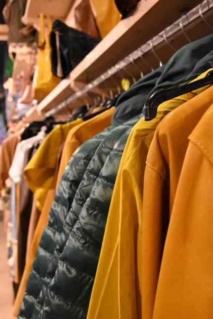 Les vêtement made in Italie de la marque Barone Firenze