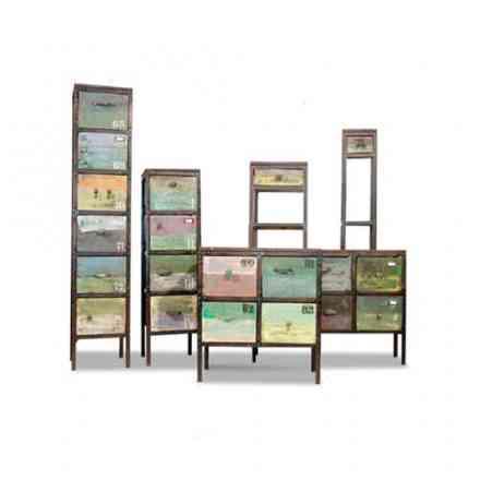 Foire de Paris Hors-série Maison - Collection Bahia bois recycle