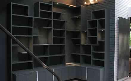 Foire de Paris Hors-série Maison - Bibliothèque d'angle sur mesure