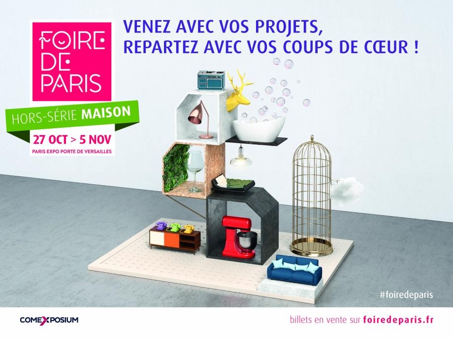 Visuel Foire de Paris Hors Série Maison 2017