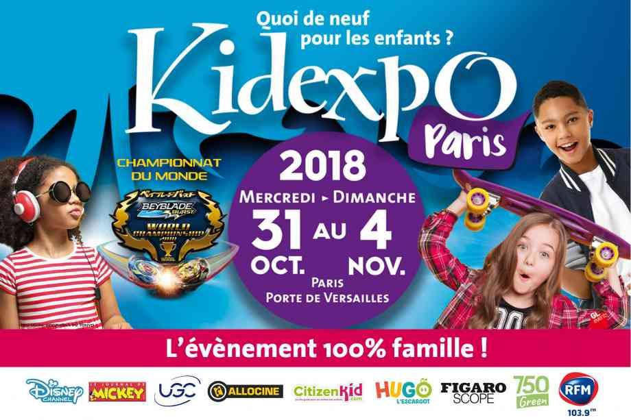 Affiche Kidexpo 2018