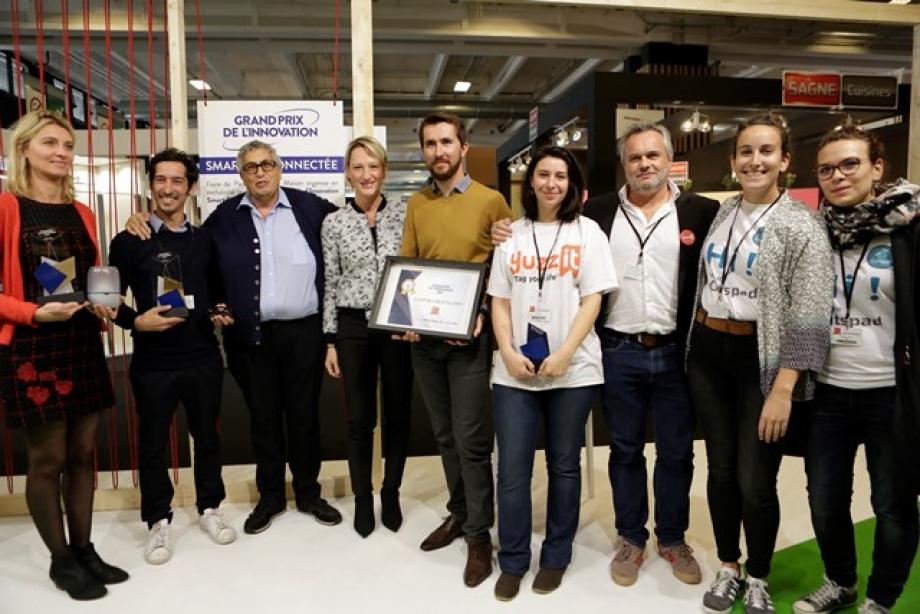 Gagnants Grand Prix de l'Innovation Smart et Connecté 2017