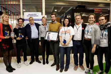 Gagnants Grand Prix de l'Innovation Smart et Connecté 2017