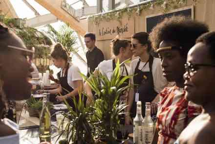 La cantine du marché et Foire de Paris