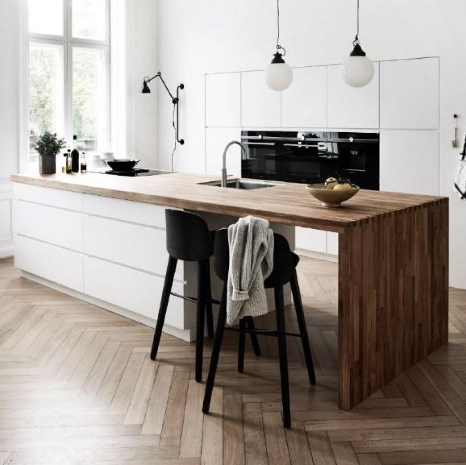 am nager une cuisine ouverte pour un int rieur chaleureux foire de paris. Black Bedroom Furniture Sets. Home Design Ideas