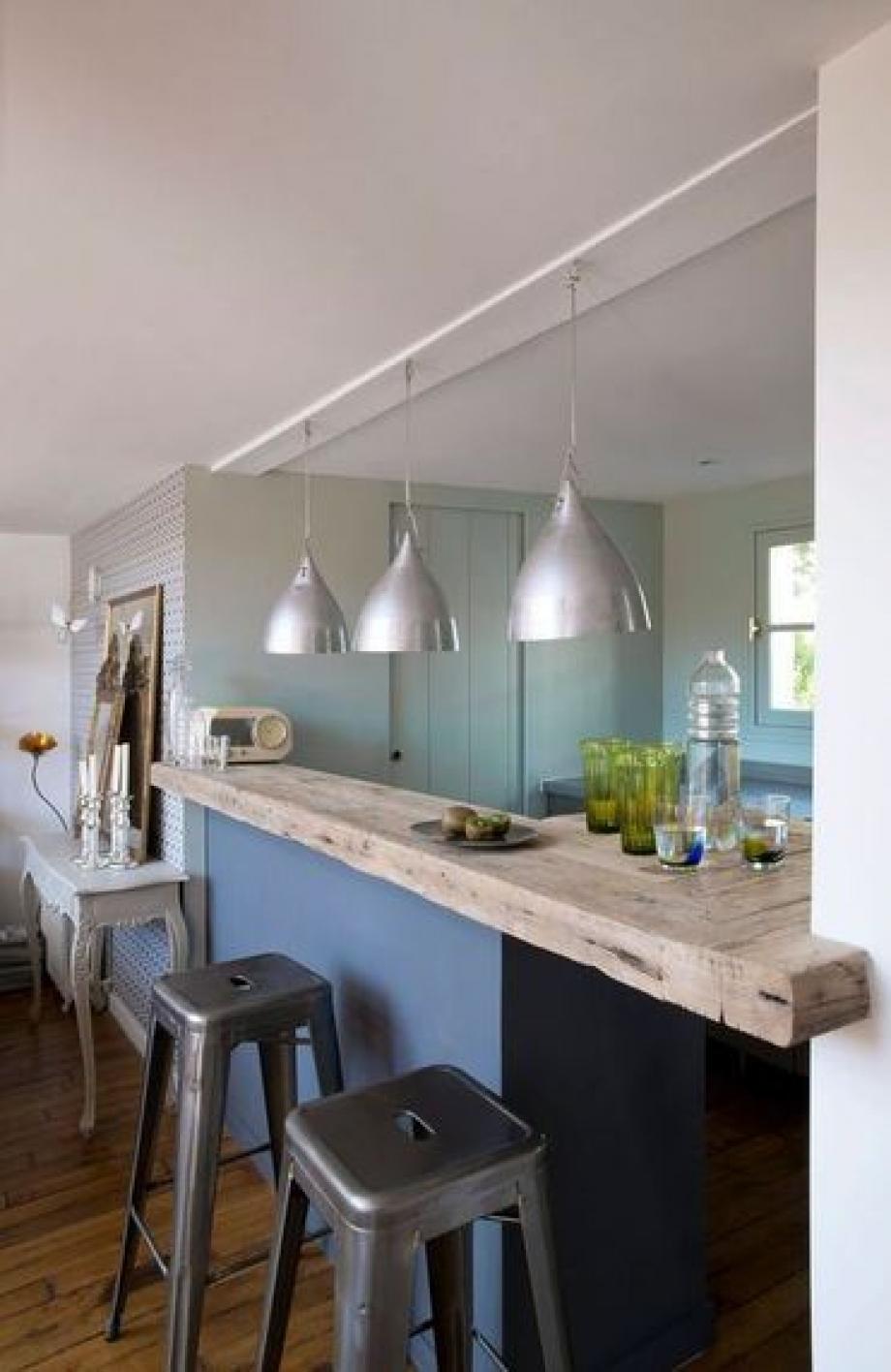 Cuisine Ouverte Avec Bar aménager une cuisine ouverte pour un intérieur chaleureux