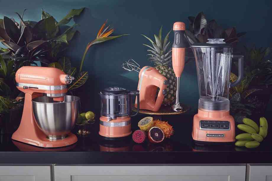 La collection KitchenAid version Bird of Paradise