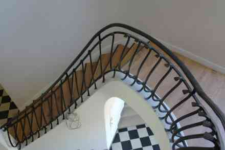 Habillage d'escalier style tradition