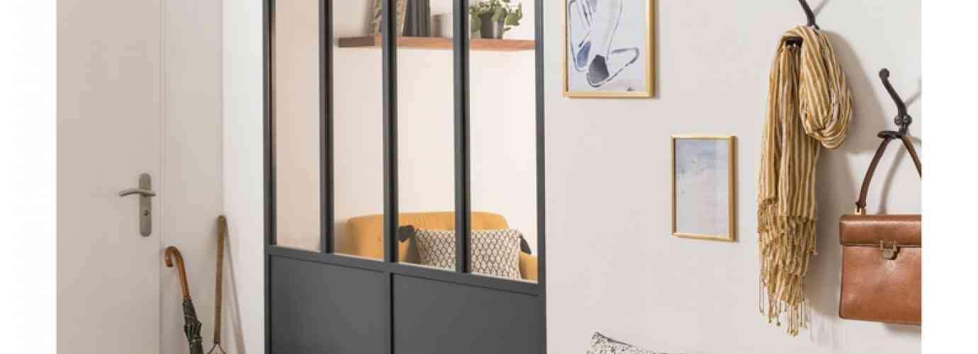 Verrière design idéale pour le couloir