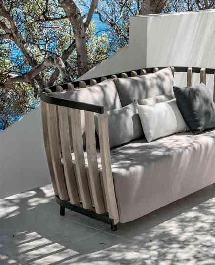 Canapé Swing - Esprit jardin