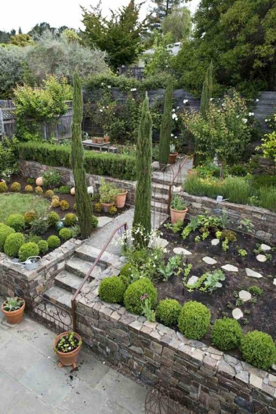 Allee De Jardin En Pente comment aménager un jardin pentu ?