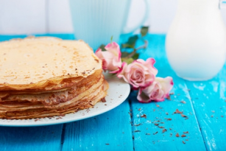crepes aux roses