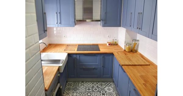 Avant apr s 7000 euros pour transformer une cuisine for Cuisine 7000 euros