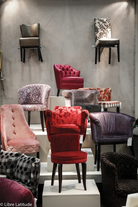 chaise glamour
