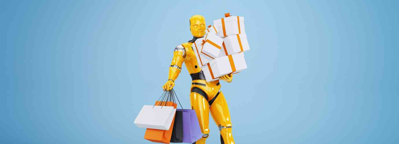 robot shopping, foire de paris