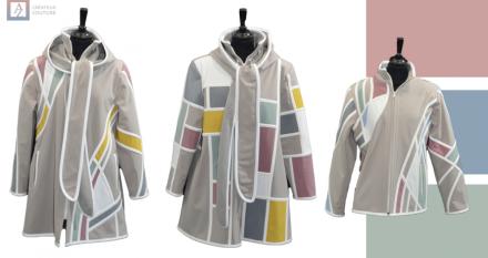 Collection 2021 vestes AZ créateur